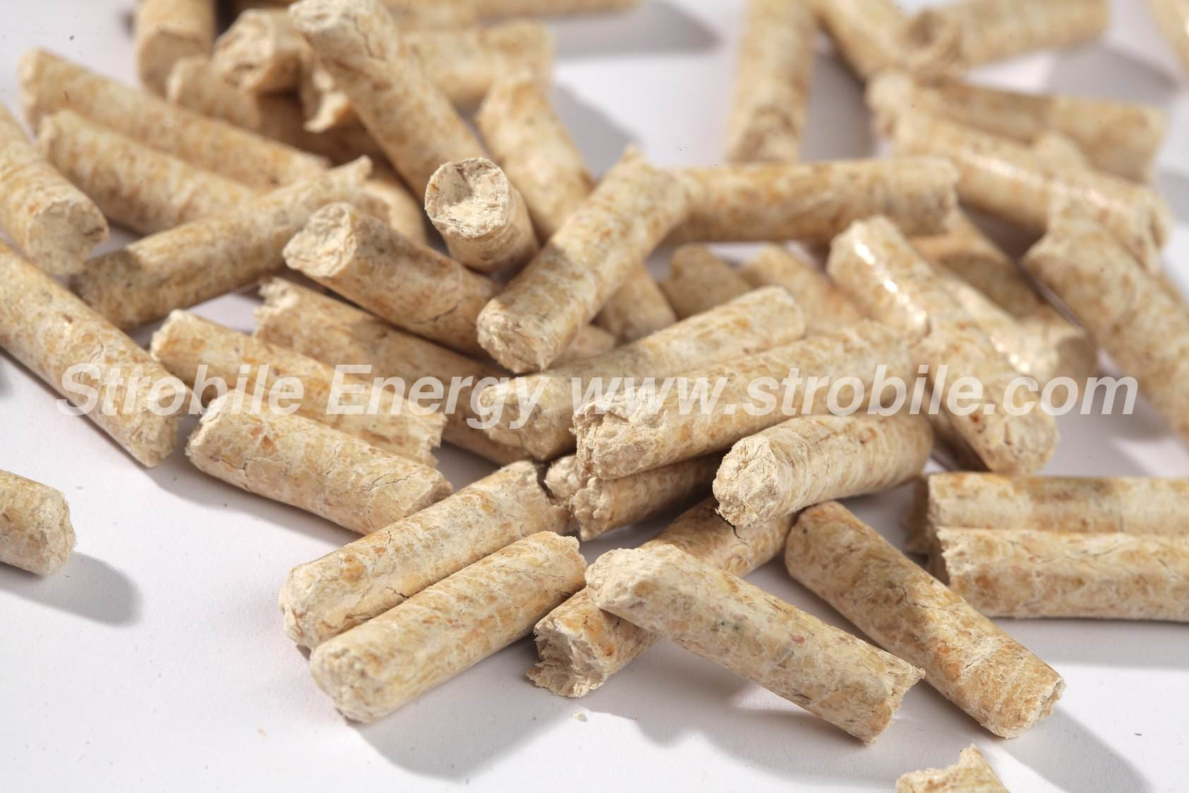 pellet di legno abete naturale Virgin Wood Pellets Foto 2