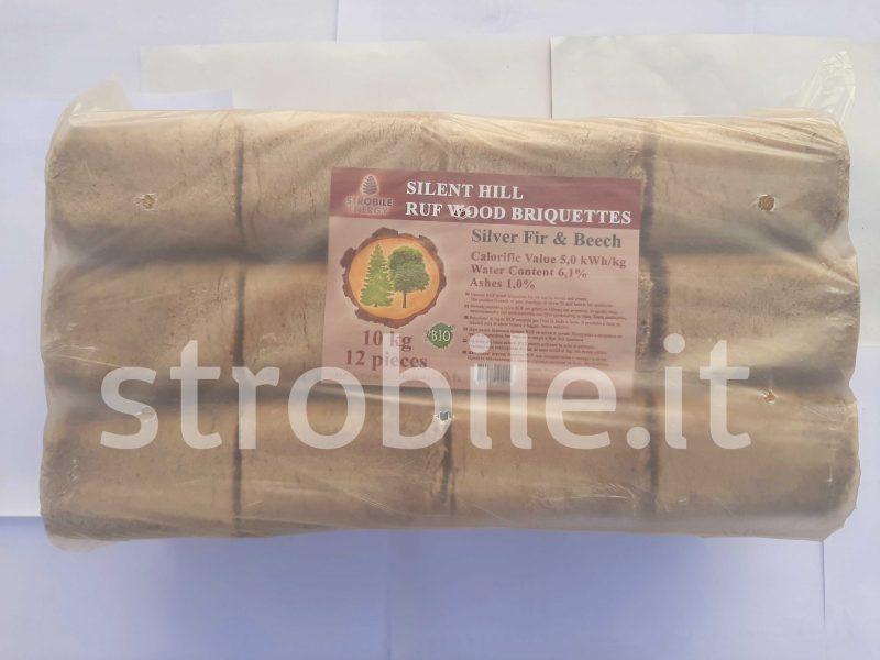 Il sacco è di 10 kg, ci sono 12 pezzi in un sacco.